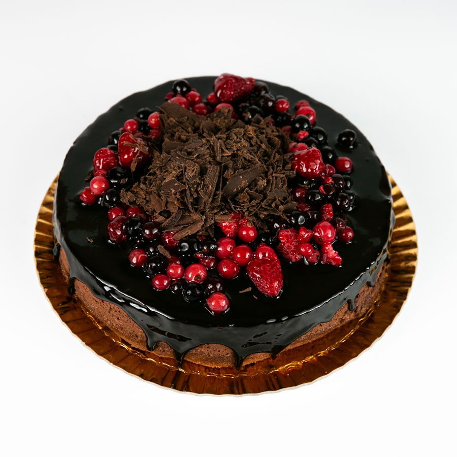 Tort ciocolata si mango fara zahar - Cofetaria Arta