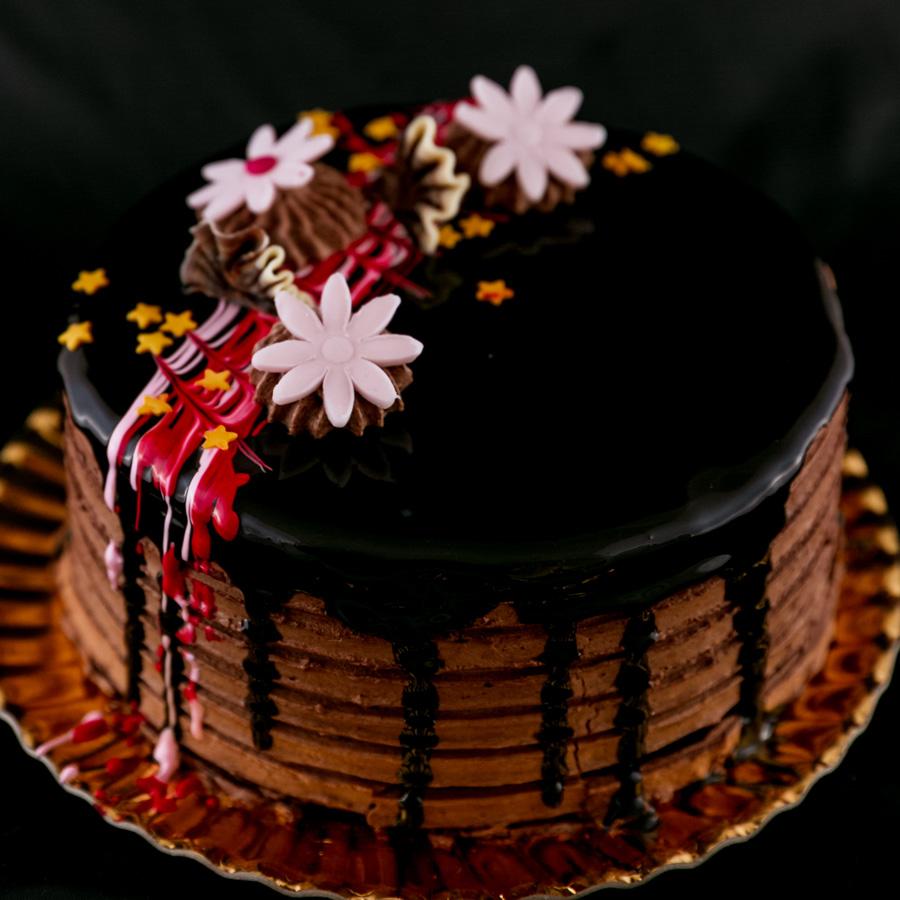 . Tort Pavlova - cu mousse de ciocolata si fructe