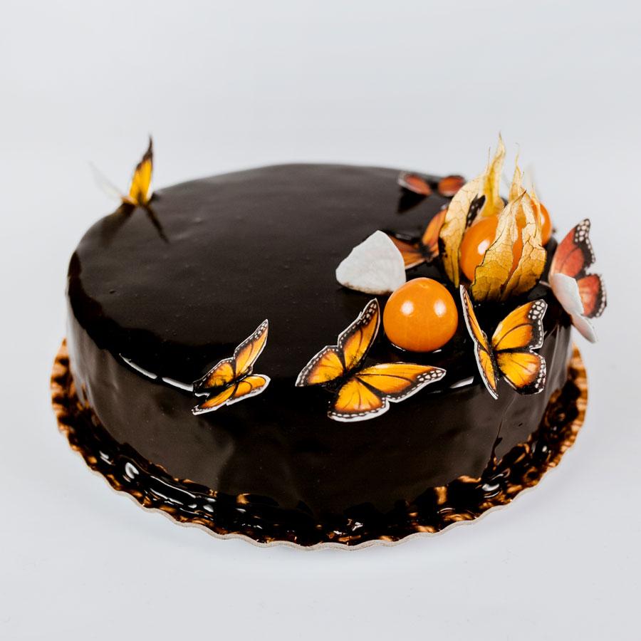 Ciocolata si zmeura (mousse) - Cofetaria Arta