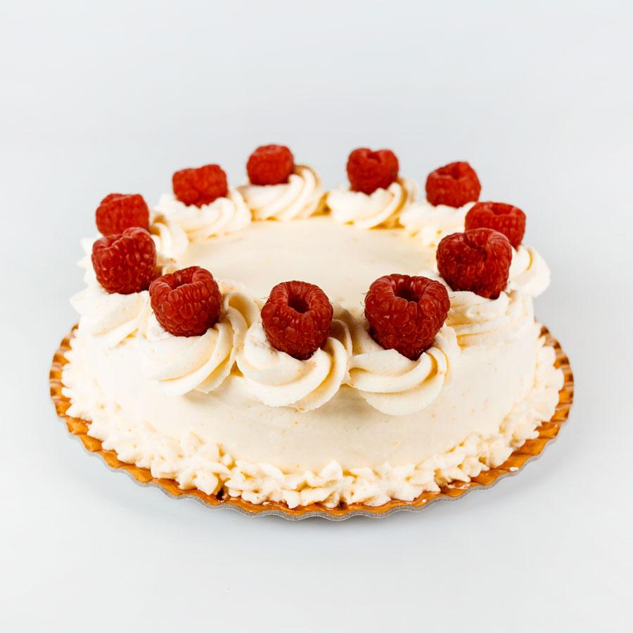 Tort ciocolata si zmeura - Cofetaria Arta